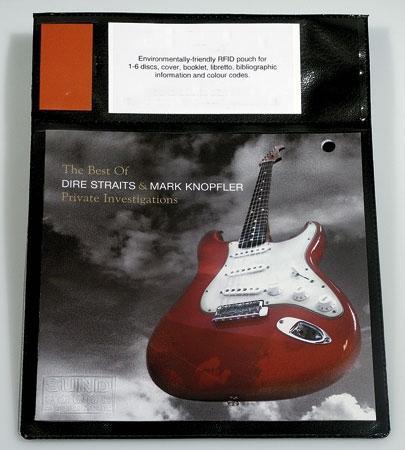 CD lomme Gladsaxe, sort, 50 stk.