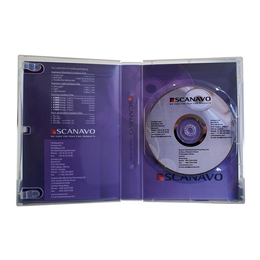 DVD boks for 1 DVD, 14 mm