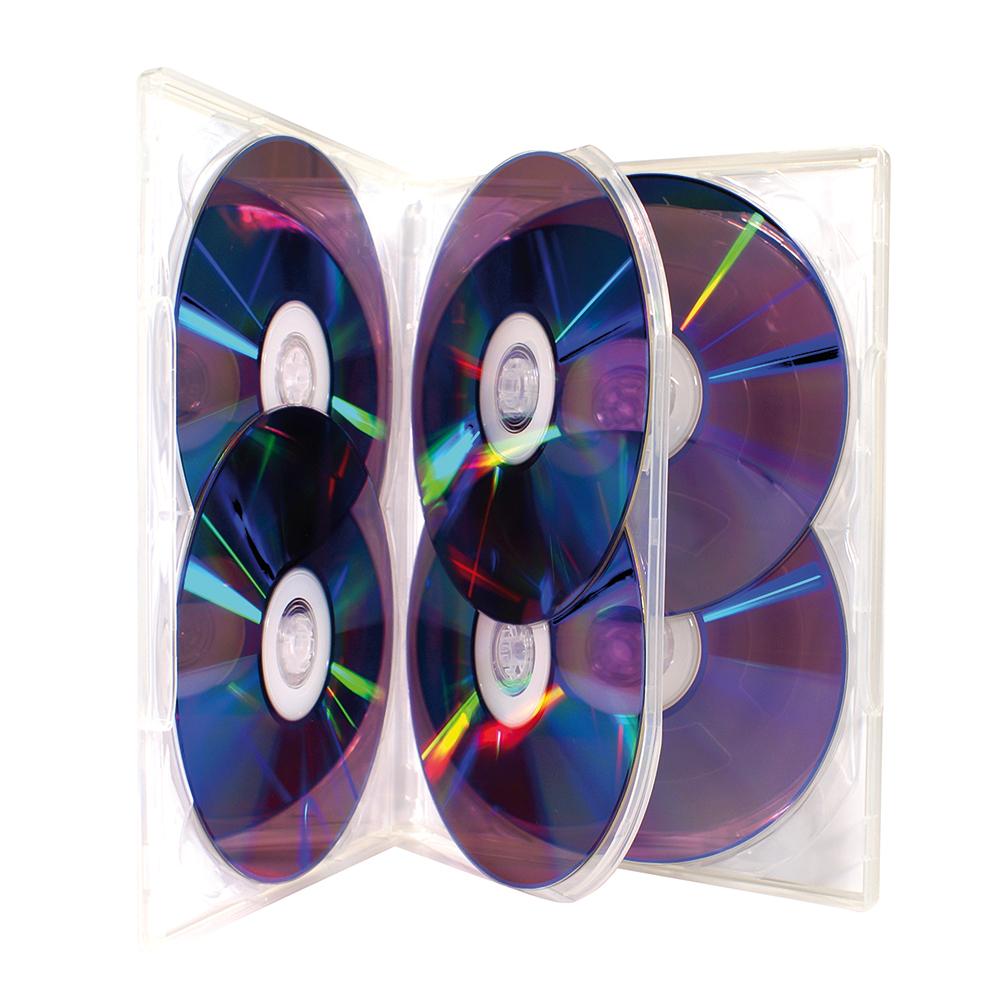 DVD boks for 6 discer *utgår*