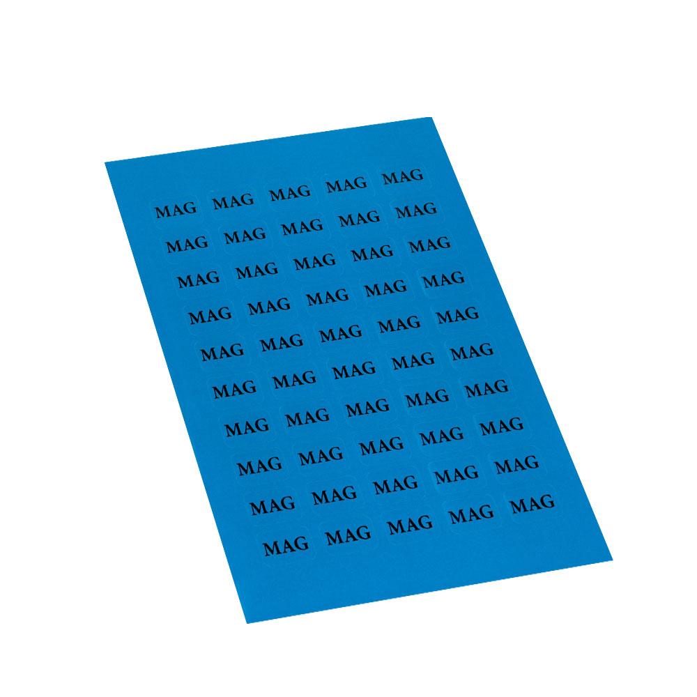 Etikett MAG 10 x 15 mm, 50 stk.