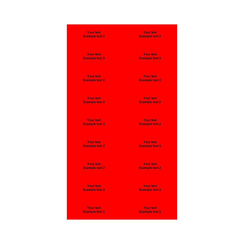 Etikett, valgfri tekst, large, 360 stk.