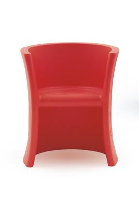 Barnestol Trioli, rød