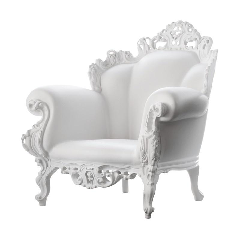 Stol Proust, hvit