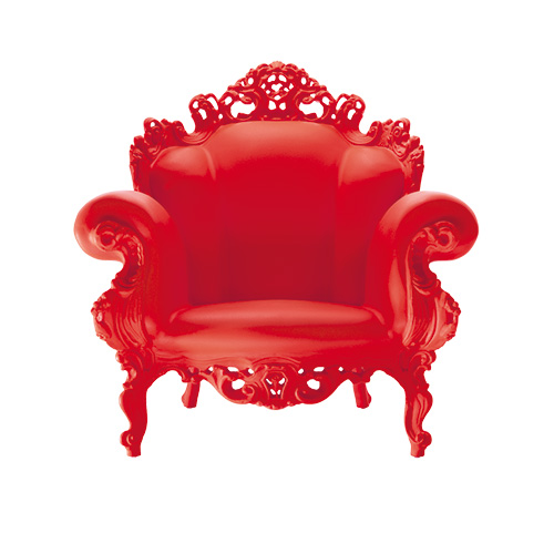 Stol Proust, rød