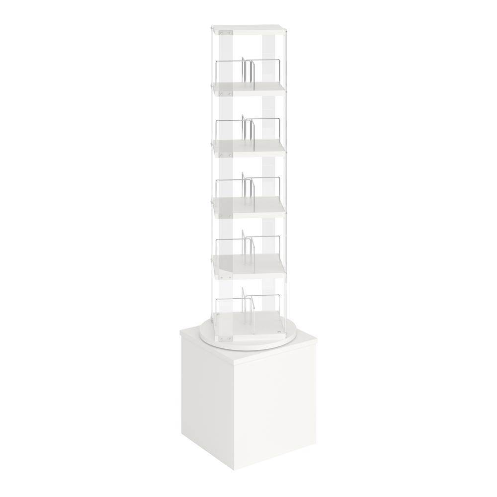 Grangeline tårn for pocketbøker/DVDer, u/hjul