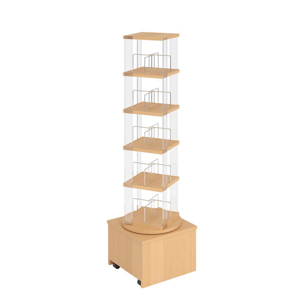 Grangeline tårn, pocketbøker/DVD, m/hjul