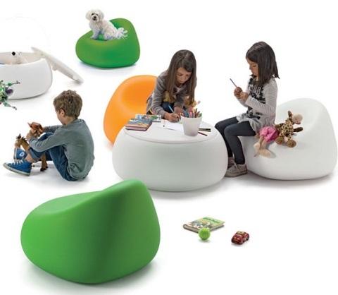 Gumball stol Junior, grønn