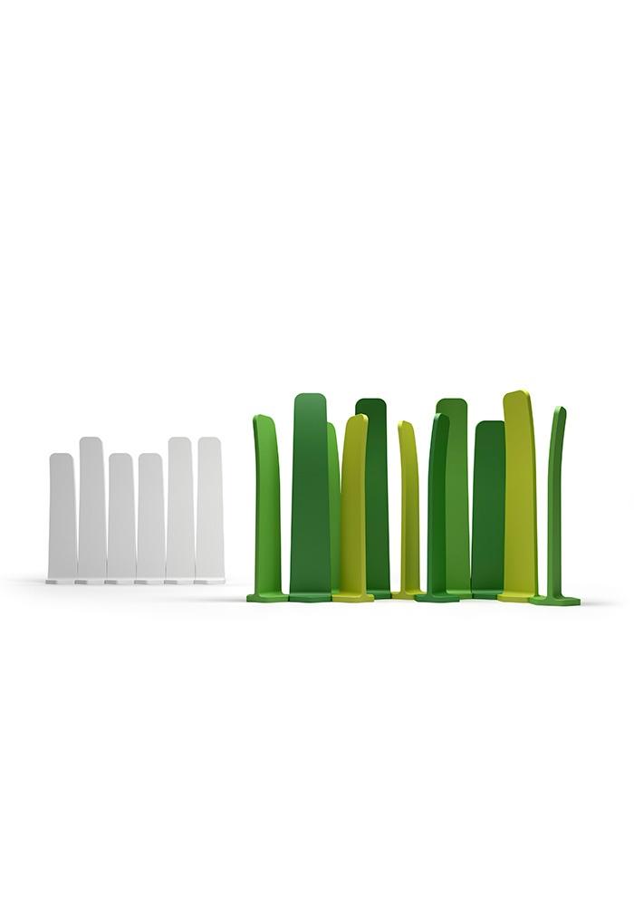 Gradient 180 skjermvegg, gress grønn