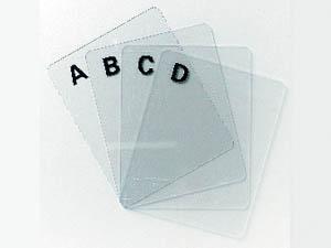 DVD el. CD register A-Å, 26 stk.