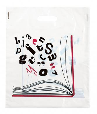Bærepose Oppslått bok, 500 stk.