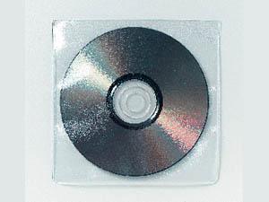CD/DVD lomme, dobbel, 10 stk.*utgår*