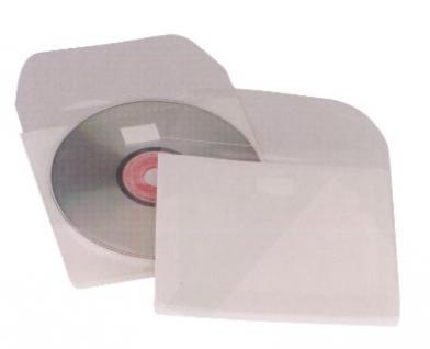 CD lomme selvkl. m/klaff, 100 stk