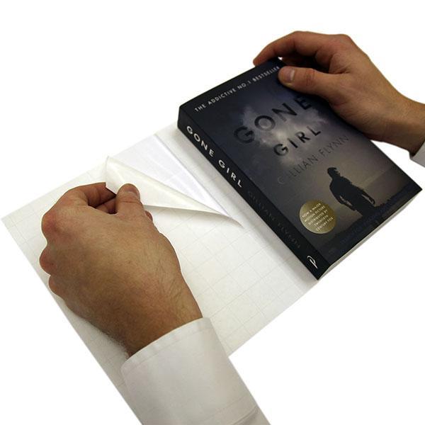 Stivplastomslag A1 for pocketbøker, 10 stk