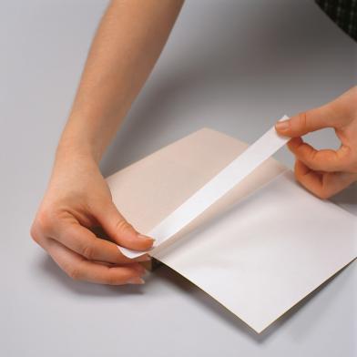 Papirtape Filmoplast P90 hvit, 2 cm x 50 m