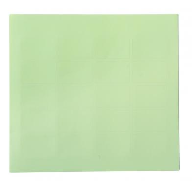 Etikett, lys grønn, 200 stk.