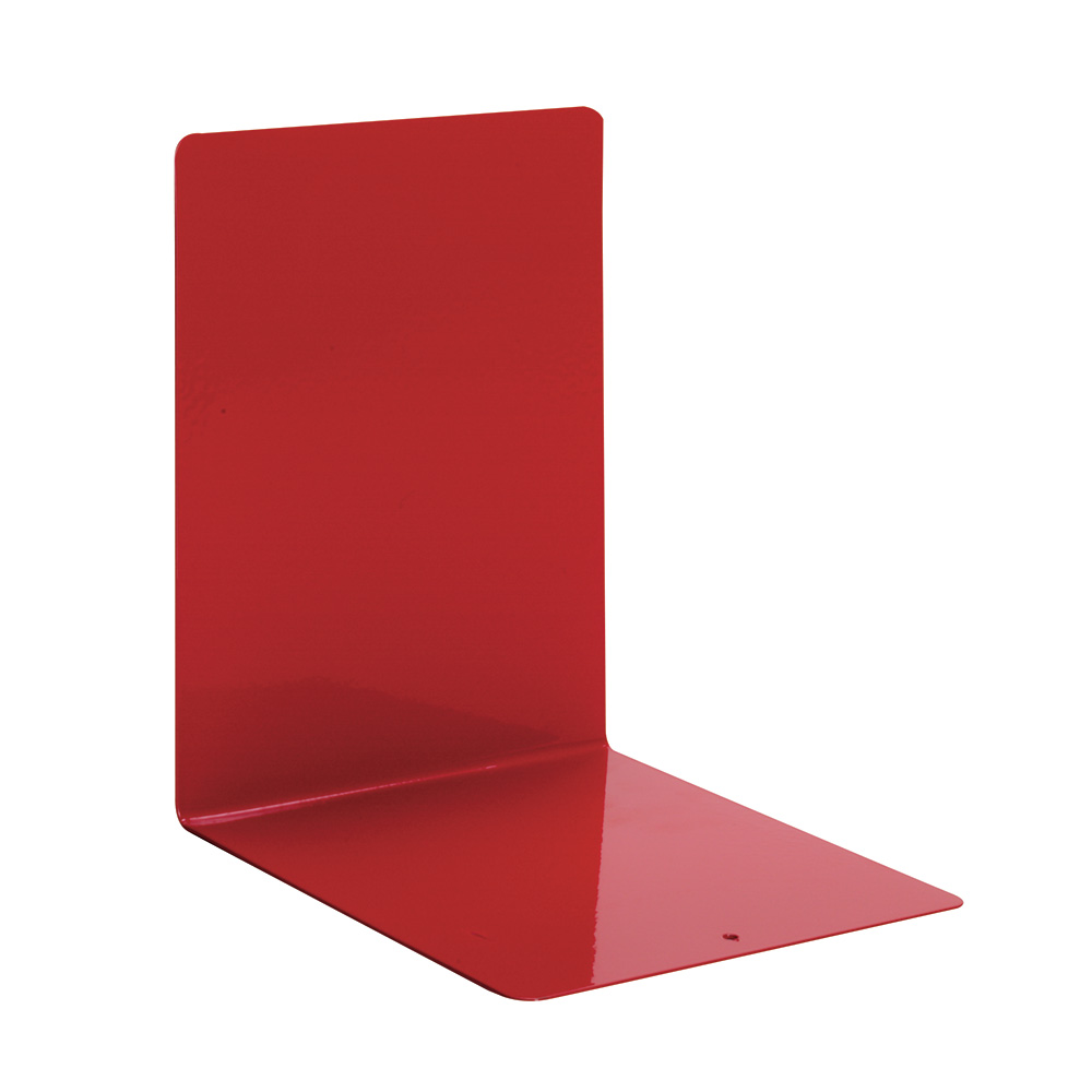 Bokstøtte, rød, 10 stk.