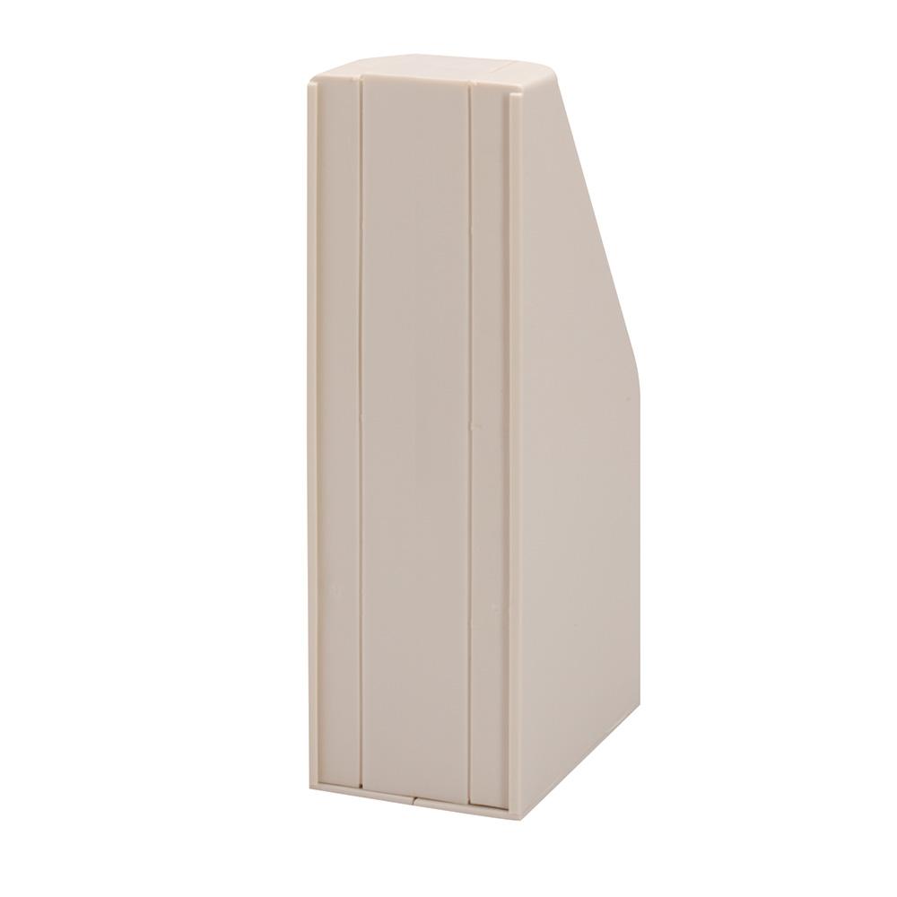 Blindbok, dobbel, 7 cm, grå