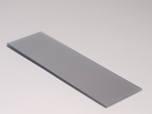 Folie til bred blindbok, klar plast, 25 stk.