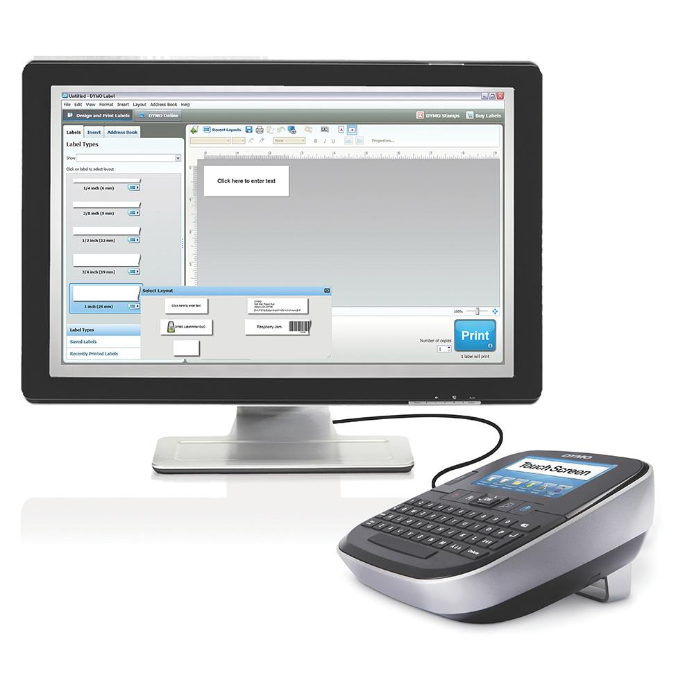 Dymo merkemaskin LM 500 TS touch screen