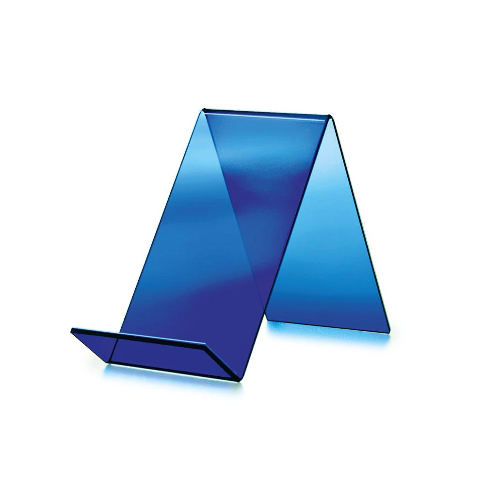 Bokstativ, normalbok, blått
