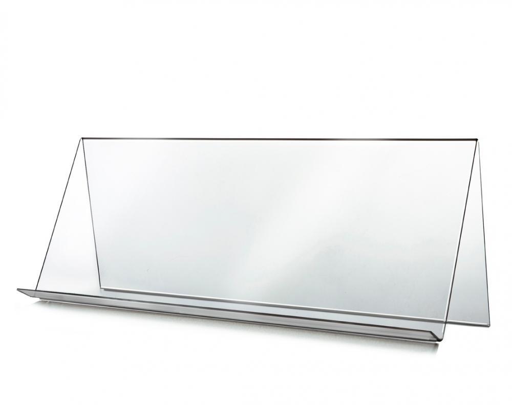 Skråhylle høy, H26 x B70 cm