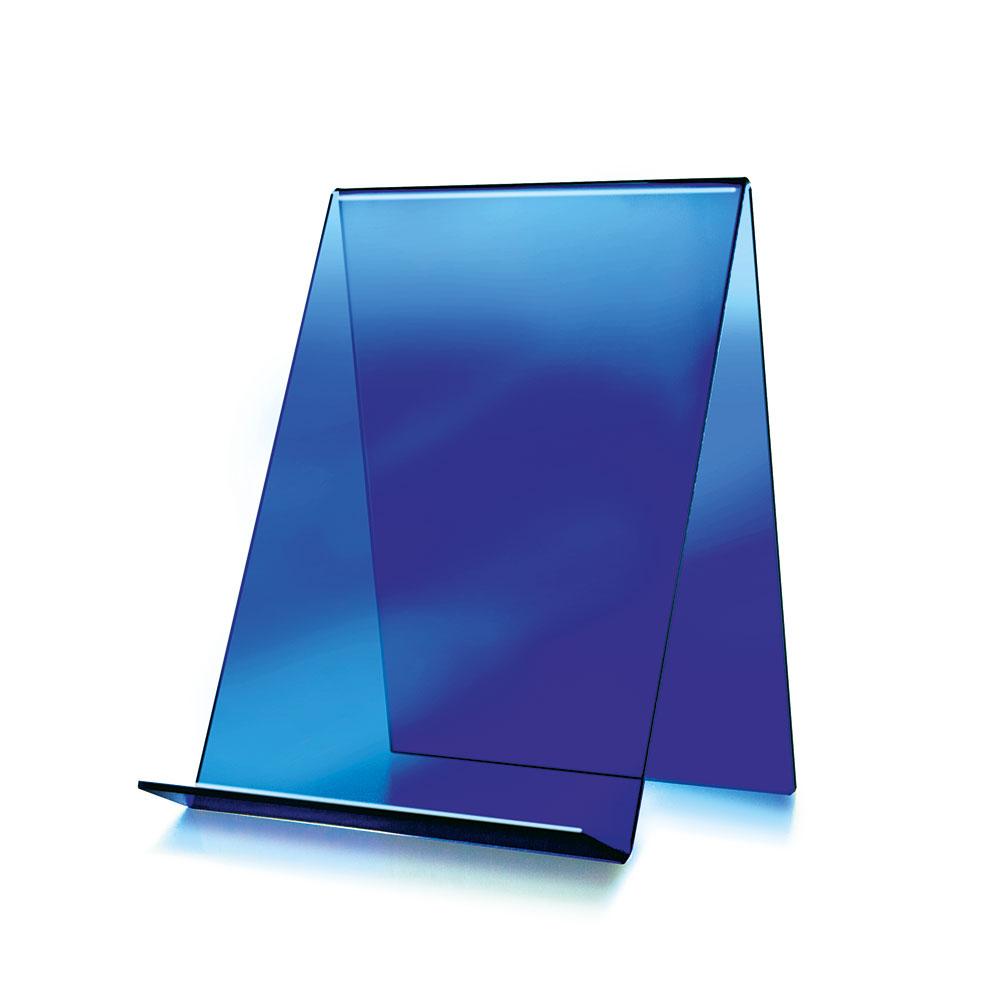 Bokstativ A4, blått