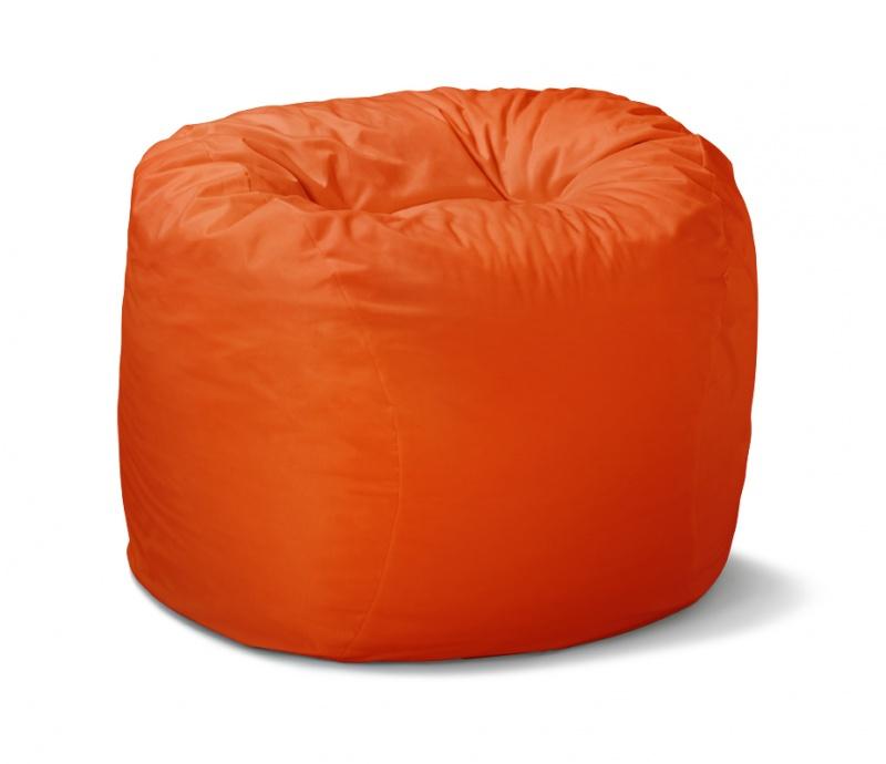 Sittesekk ChillBill, Mini Ø90, oransje nylon