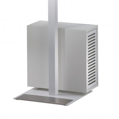 Flatline CPU boks, hvit