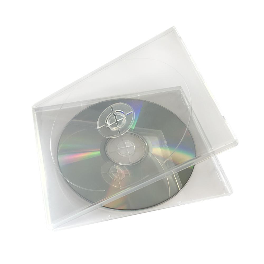 CD boks, dobbel, ekstra tynn