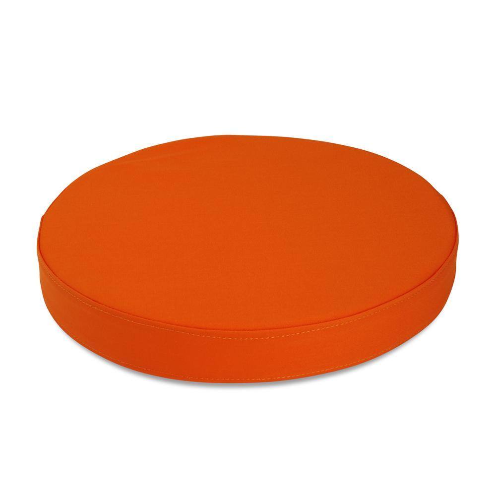 Sittepute Ø35 x H5 cm, oransje
