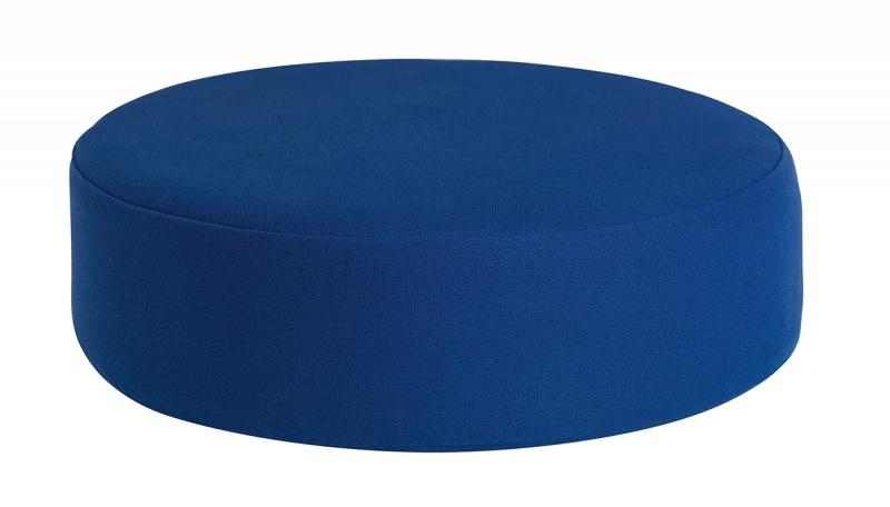 Sittepute Ø35 x h10 cm, blå