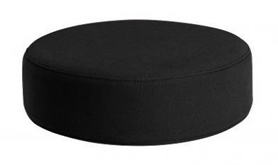 Sittepute Ø35 x H10 cm, sort