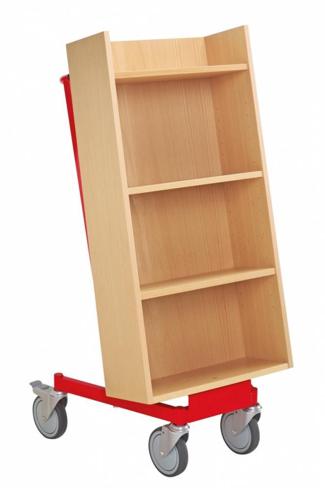 Bokvogn Halland, bøk/rød