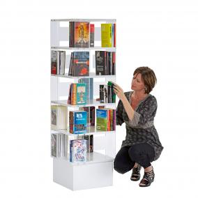 Book Tower, medium, hvitt
