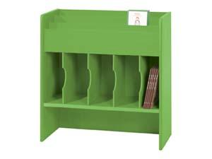 Bildebokkasse Store Claus, grønn