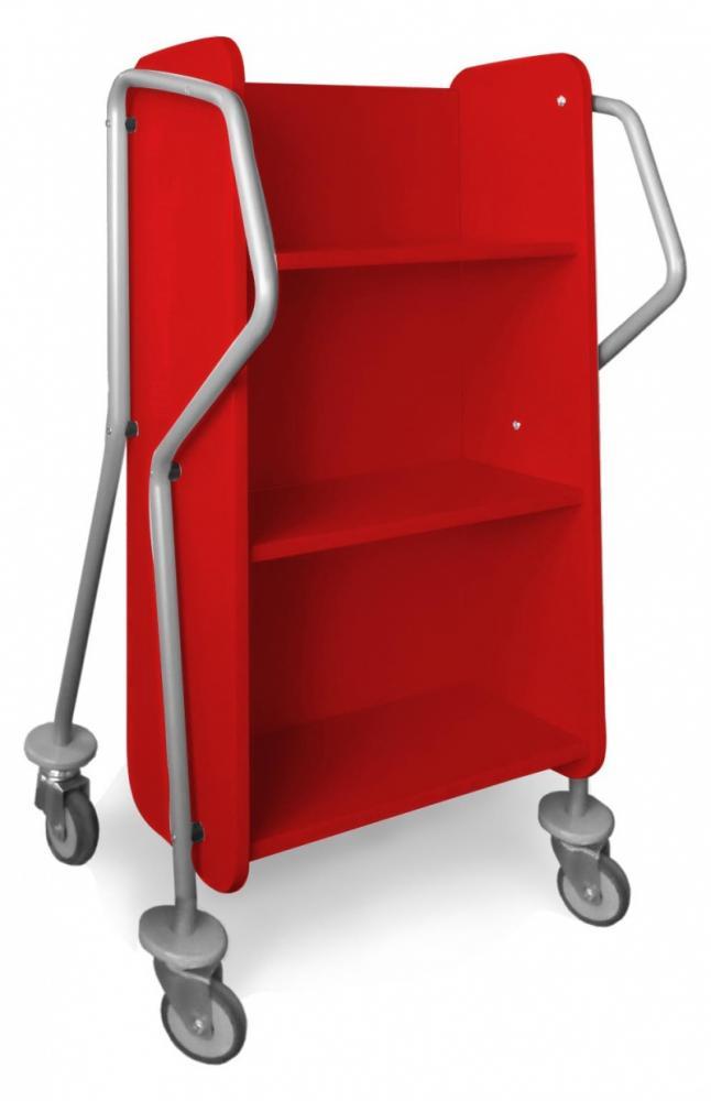 Bokvogn Crossrunner Mini, rød