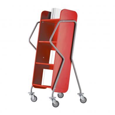 Bokvogn Crossrunner, Maxi, rød