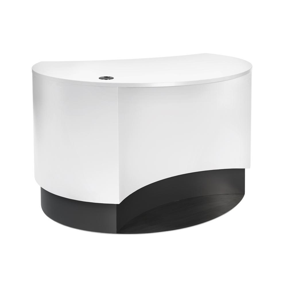 Info Pod med inntrukket front, hvit/mørkegrå