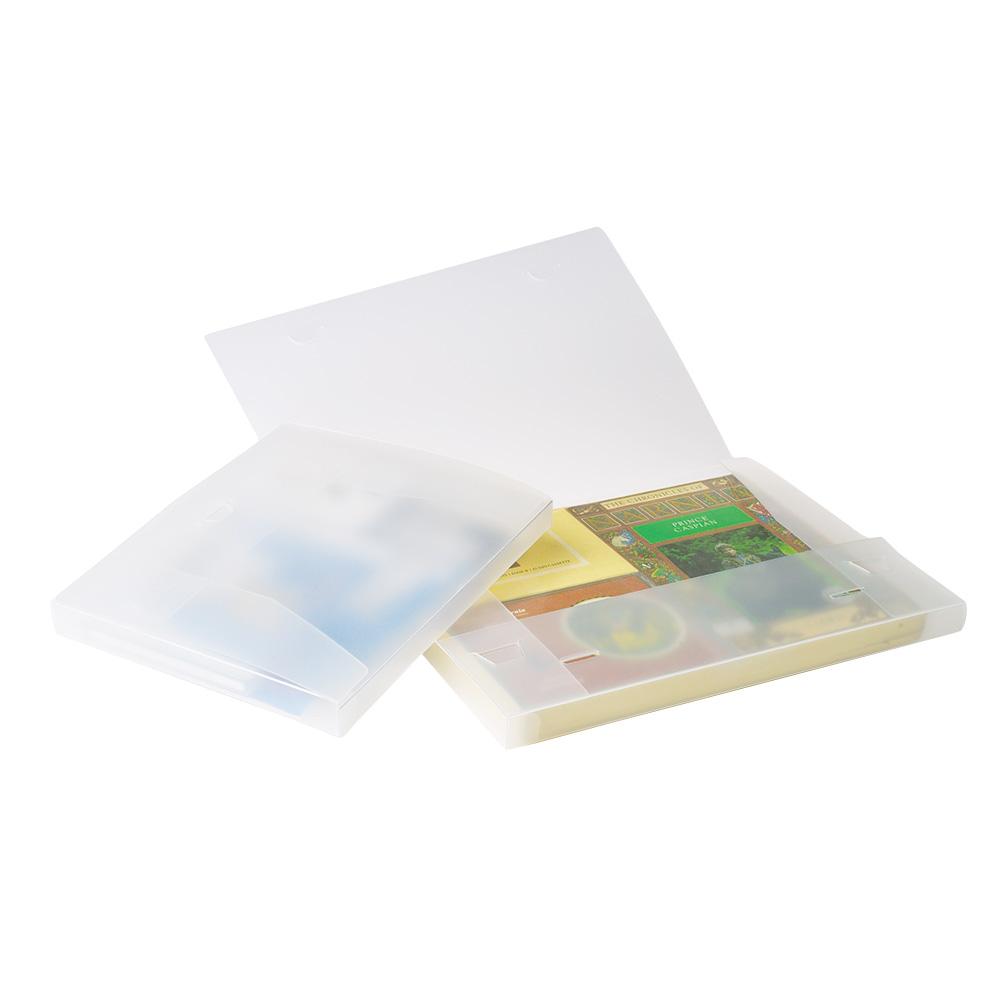AV-boks 2, frosthvit, 22 x 31 x 2 cm