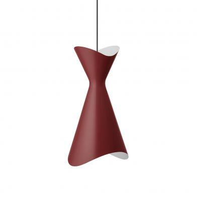 Ninotchka lampe, B275 mm, rød