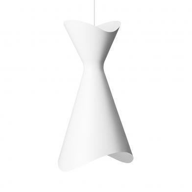 Ninotchka lampe, B425 mm, hvit