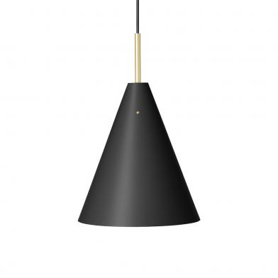 Mosaik taklampe, Ø25 mm, sort