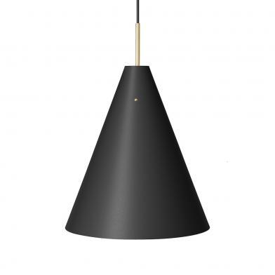 Mosaik taklampe, Ø40 mm, svart