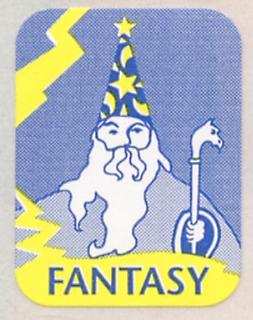 Symboletikett Fantasy, farger, 500 stk.*utgått*