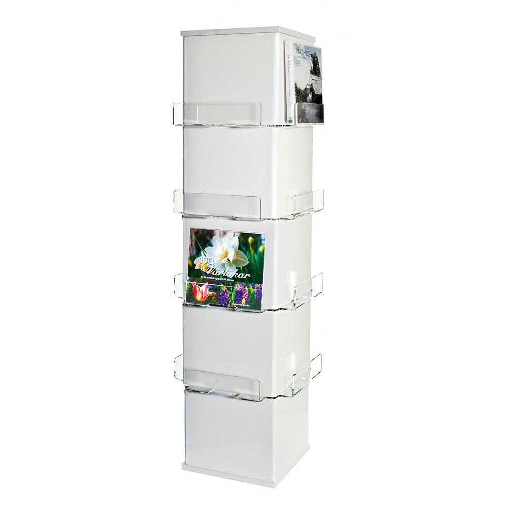 Cube eksponeringstårn, hvitt