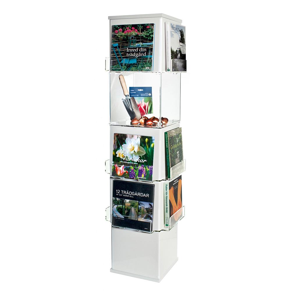 Cube eksponeringstårn, hvit/klar