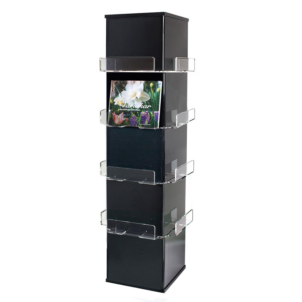 Cube eksponeringstårn, svart