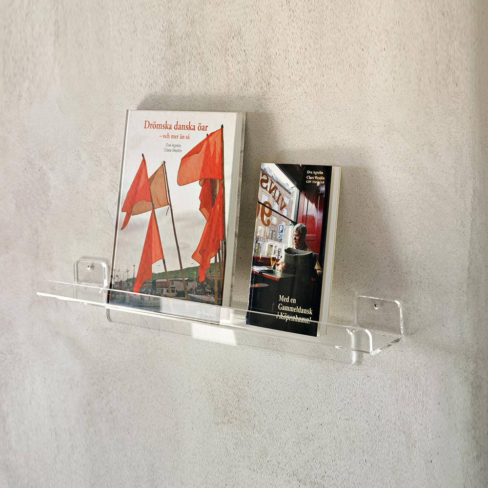 Cube vegglist m/oppkant, B50 cm