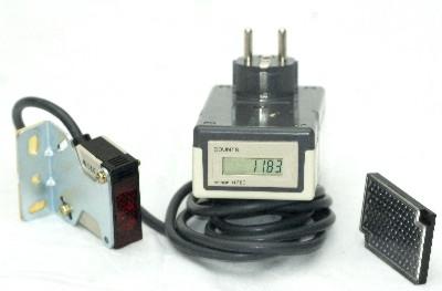 Skifting av tellerverk+batteri på besøksteller