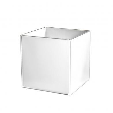 Cube, kube (for utstillingsmateriell), hvit